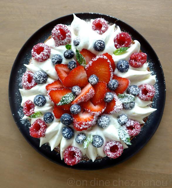 fraises, tarte , Michalak , Fantastik