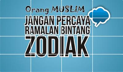 Orang Islam Dilarang Percaya Zodiak