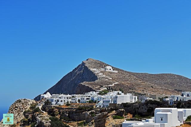 Chora, isla de Folegandros (Grecia)