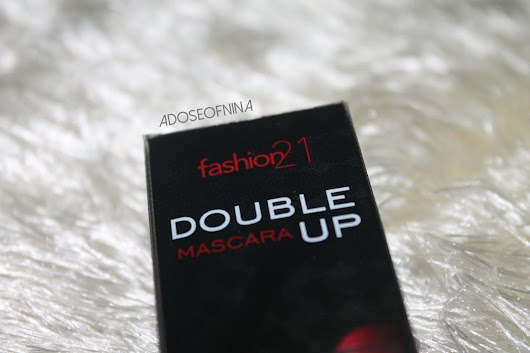 Fashion 21 Double Up Mascara : Review