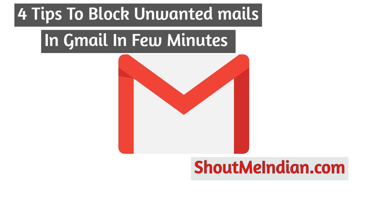 How To Block Unwanted Mail In Gmail