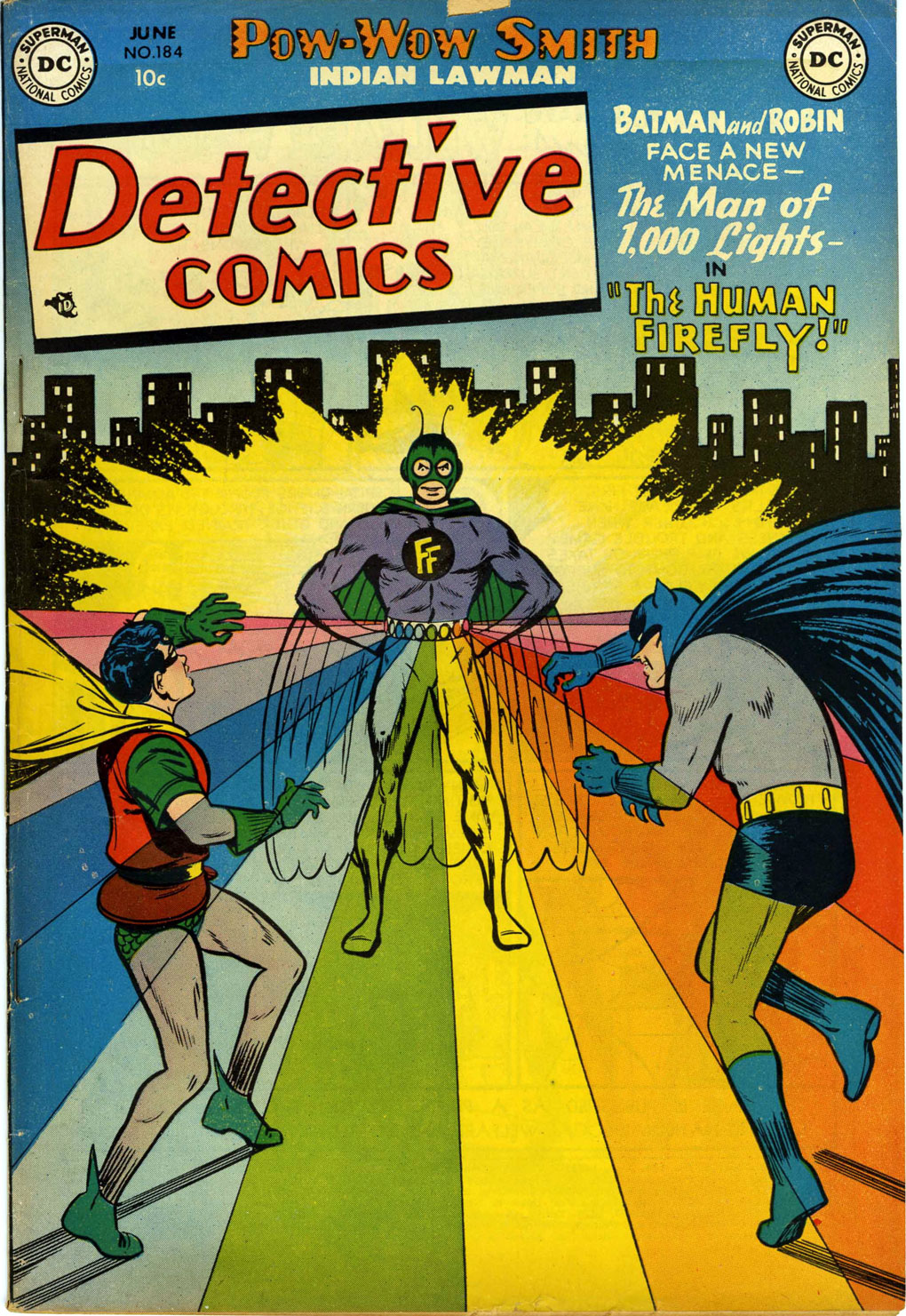 Detective Comics (1937) 184 Page 1