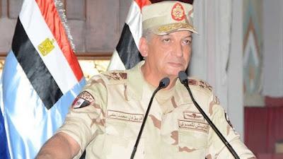 الفريق أول محمد زكي - القائد العام للقوات المسلحة