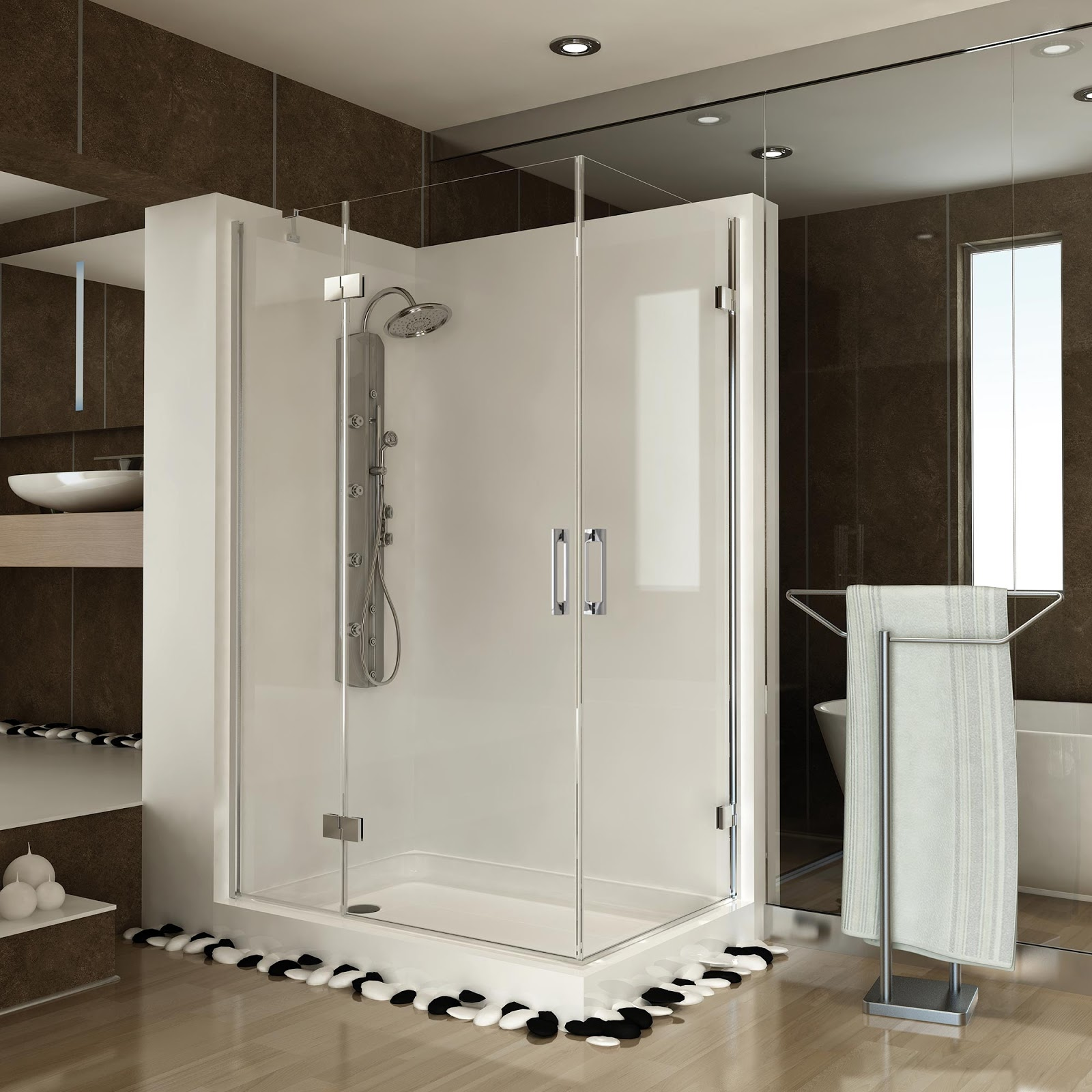C mo limpiar correctamente la mampara de tu ducha ch for Como limpiar la mampara del bano