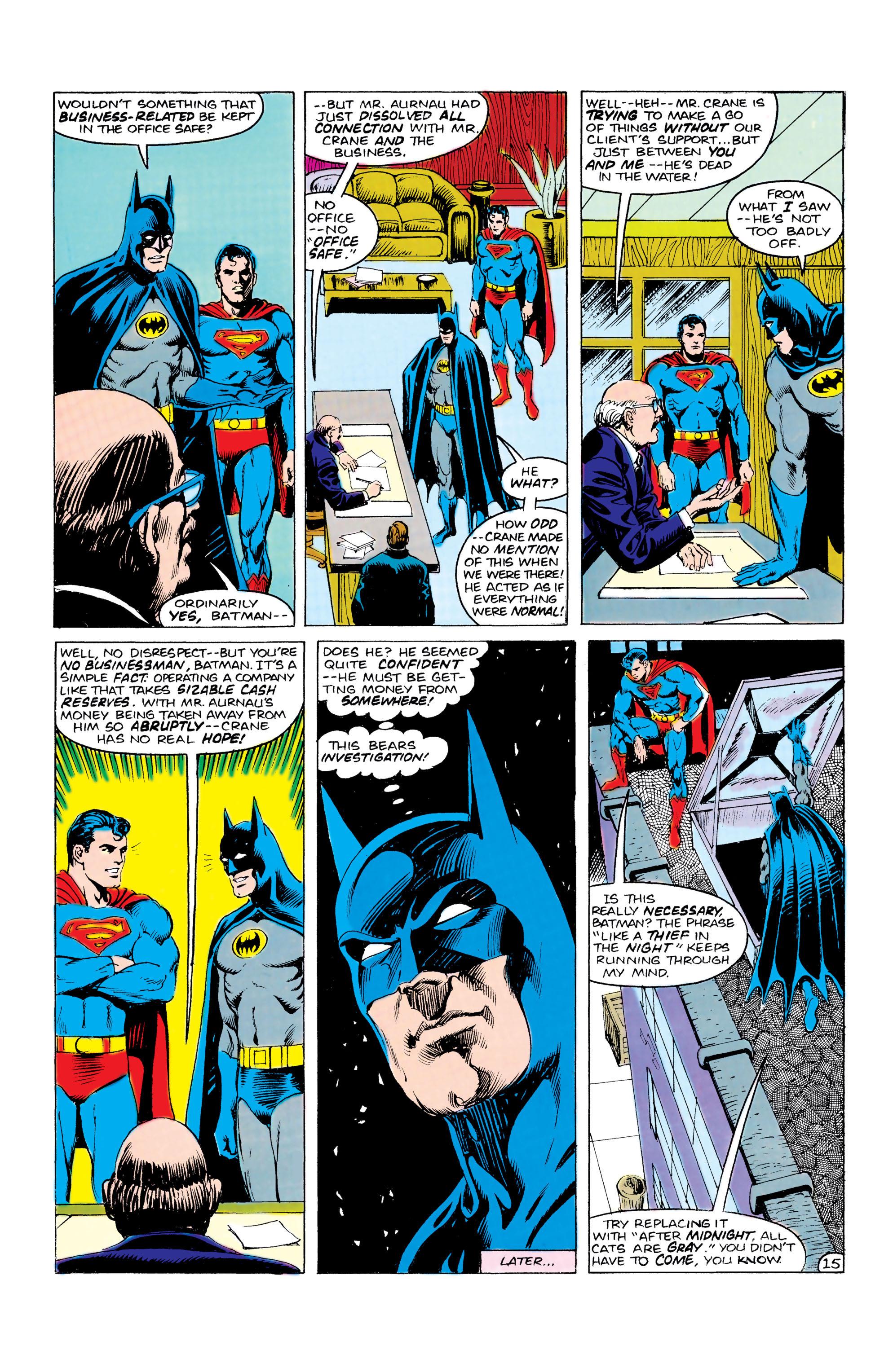 Read online World's Finest Comics comic -  Issue #309 - 16
