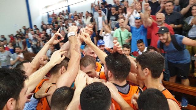 Έφτασε η στιγμή που ο «Α.Ο Οίαξ Ναυπλίου» θα γιορτάσει την άνοδο της  στην Α2 Εθνική κατηγορία μπάσκετ