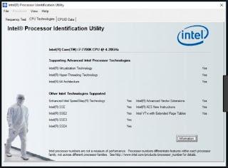 تحميل برنامج intel processor identification utility
