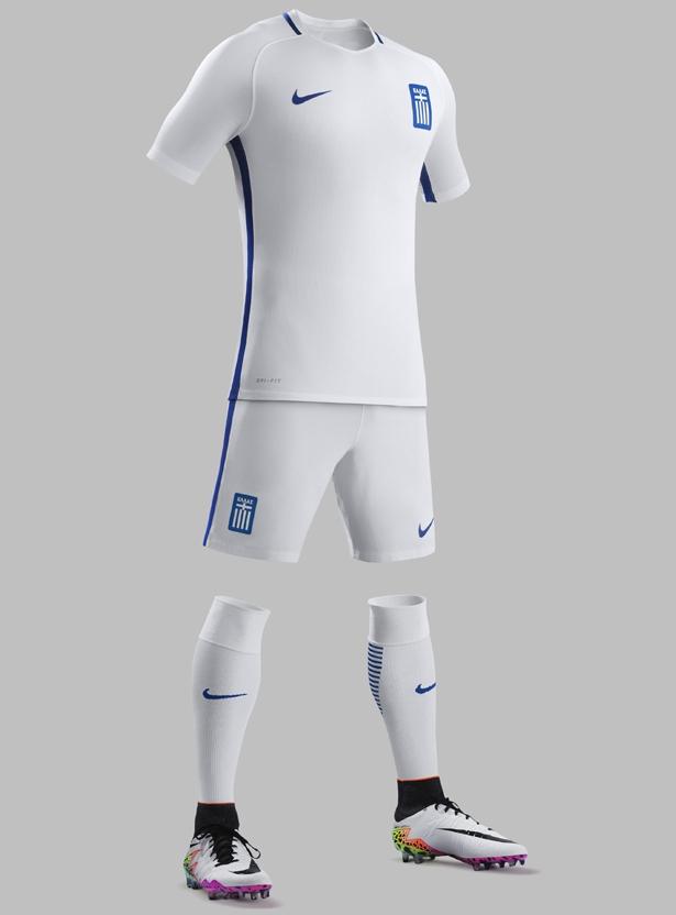 8dc3ba1a58 Nike apresenta as novas camisas da Grécia - Testando Novo Site