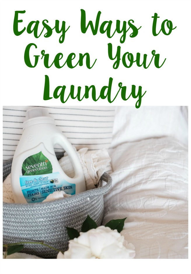 Easy Ways to Green Your Laundry