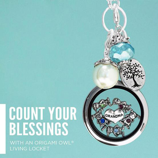 Grandma Origami Owl Living Locket from StoriedCharms.com