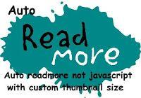 Tự động tóm tắt bài viết không dùng javascript với ảnh thumbnail tùy chỉnh kích thước