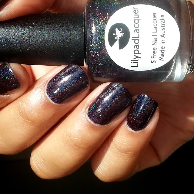 Lilypad Lacquer - Rainbow in Space