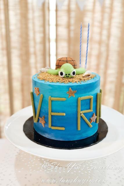 Pleasant Shu Yins Sanctuary Verns 2Nd Sea Turtle Birthday Cake Funny Birthday Cards Online Alyptdamsfinfo