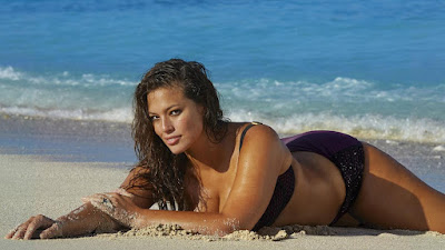 Ashley Graham Outtakes SI Swimsuit 2016 - video snap