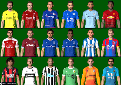 PES 2016 PES Professionals Patch 2016 Update v5.4 Season 2018/2019
