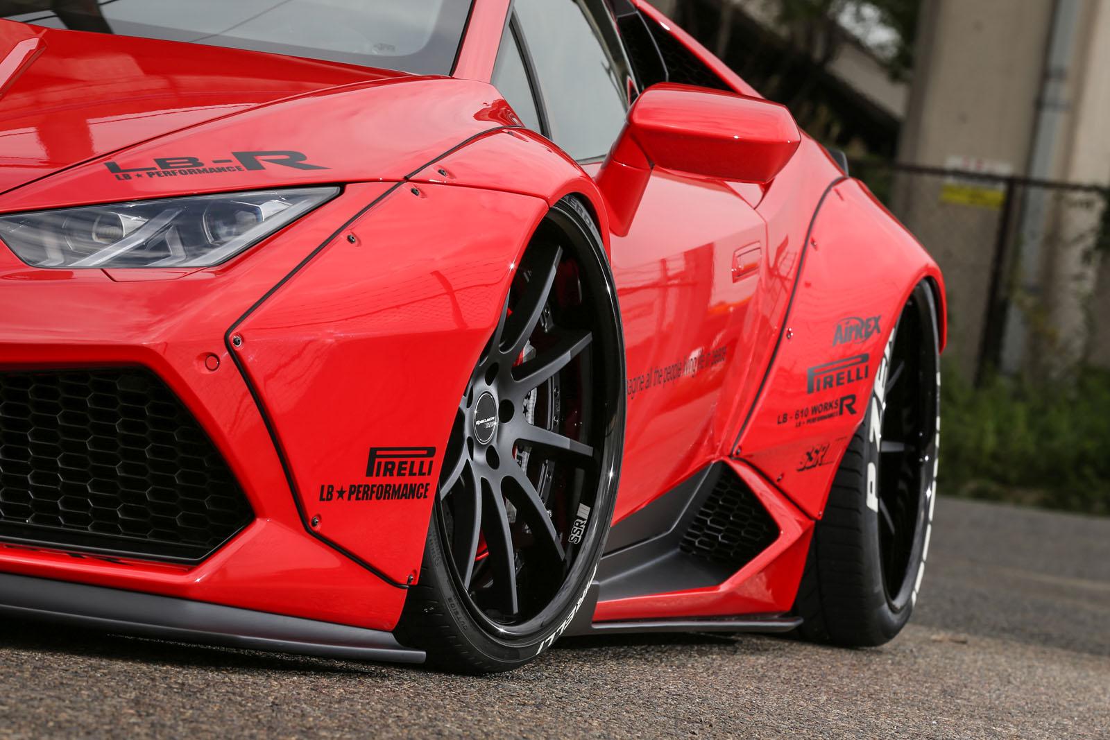Liberty Walk Lends Lamborghini Huracan More Visual Drama ...