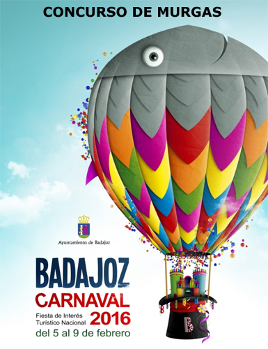 Carnaval de Badajoz 2016 concurso de Murgas ganadores