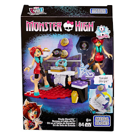 MH Study Howl DJ Building Set Toralei Stripe Mega Blocks Figure