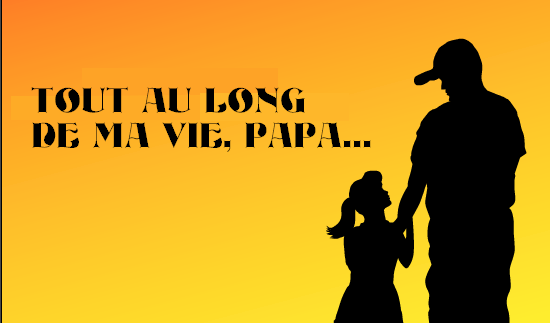 Mots d'amour pour son père