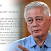 BEWARE: Ex-DILG Alunan Warns Public over New Modus Operandi in Carnapping