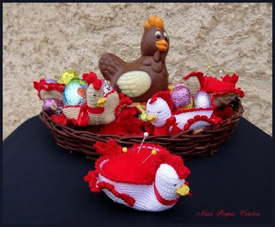 Cocotte de Pâques au crochet