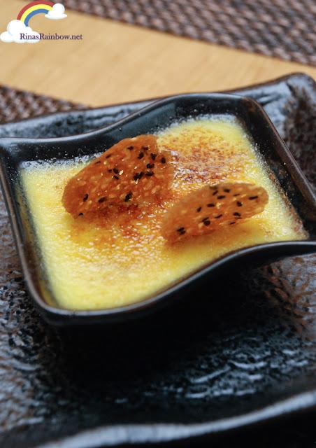 Wasabi Creme Brulee