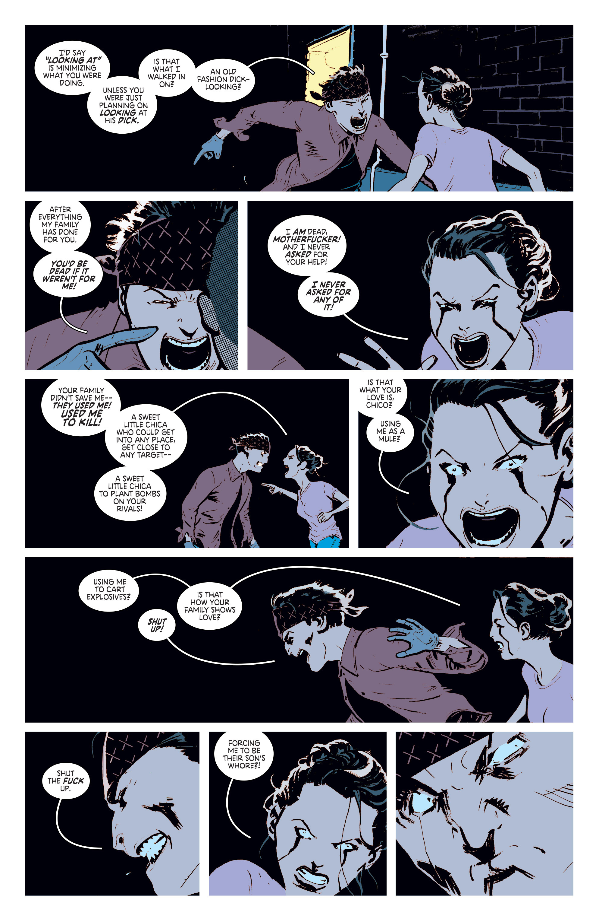 Read online Deadly Class comic -  Issue #6 - 12