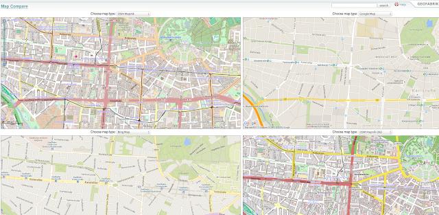 http://tools.geofabrik.de/mc/#12/47.8528/-3.5319&num=4&mt0=mapnik&mt1=google-map&mt2=bing-map&mt3=mapnik-german