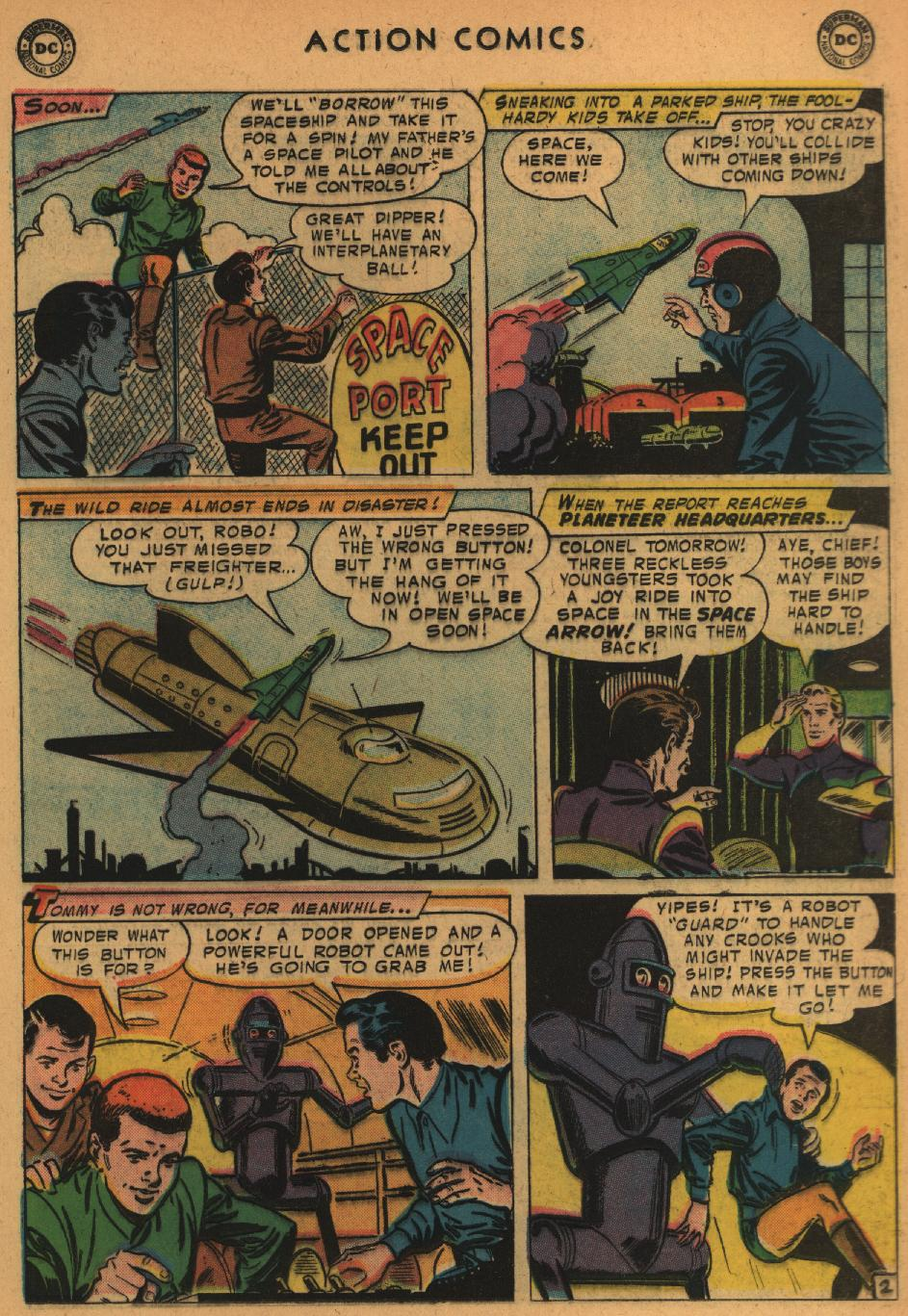 Read online Action Comics (1938) comic -  Issue #235 - 21