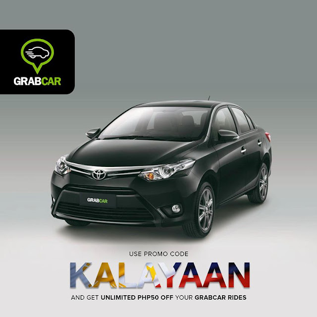 GrabCar promocode for July 2015