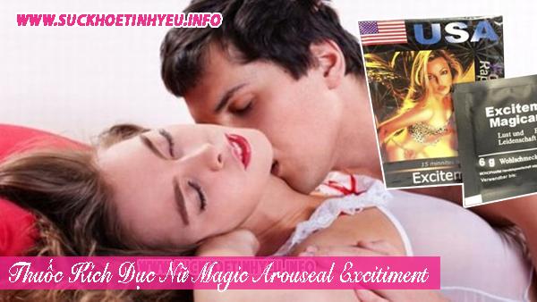Thuốc Kích Dục Nữ Dạng Bột Magic Arouseal Excitement