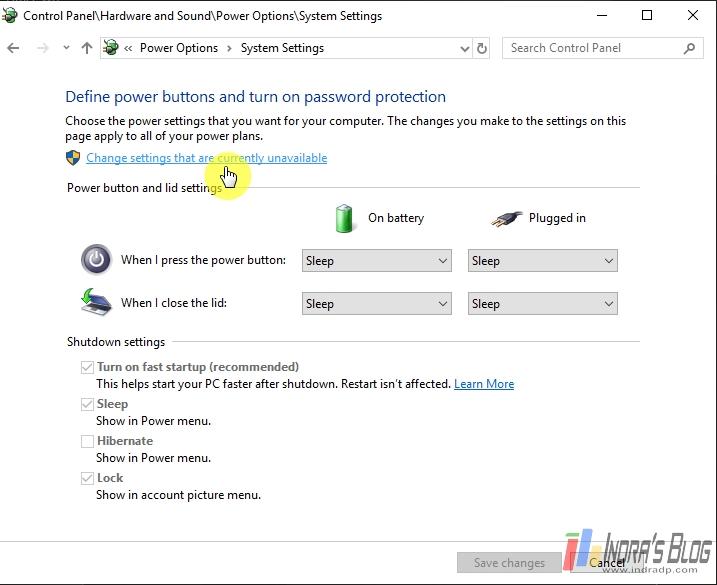 Cara Memunculkan Kembali Hibernate di Windows 10