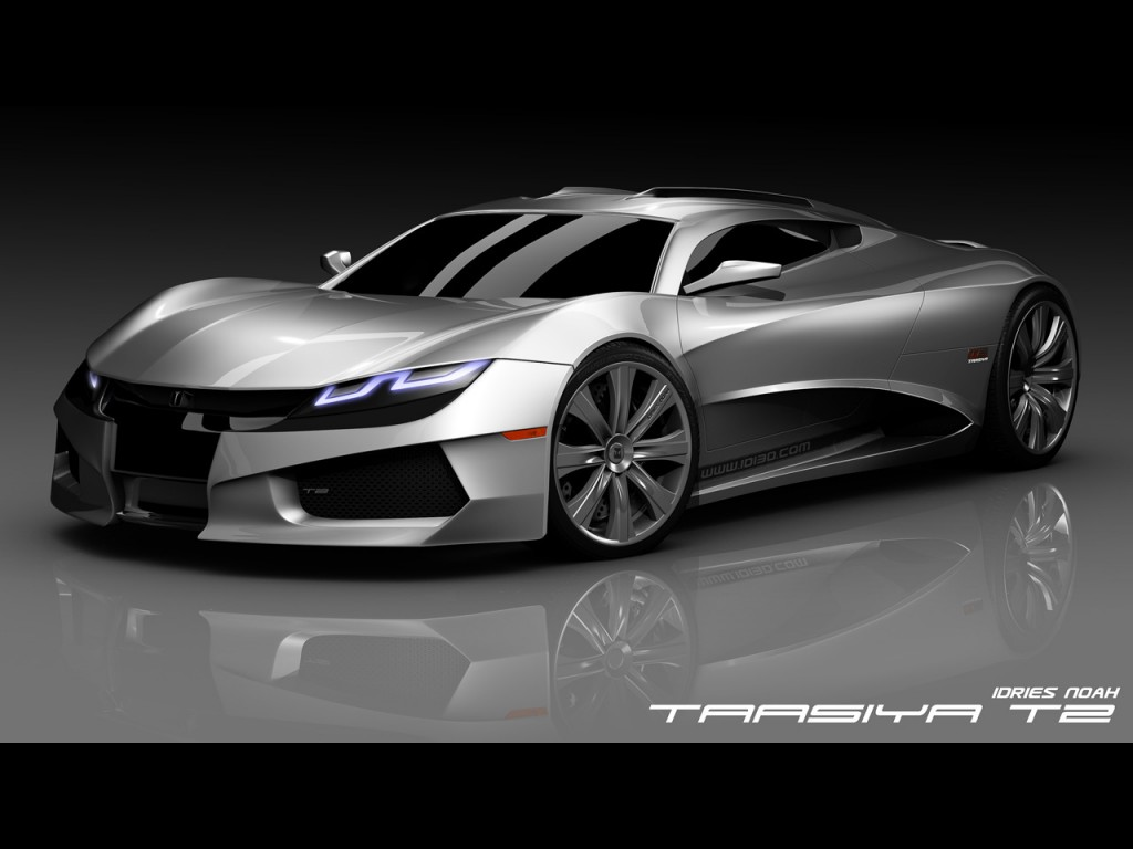 T2 Concept, The Future Hydbrid Supercar 2010