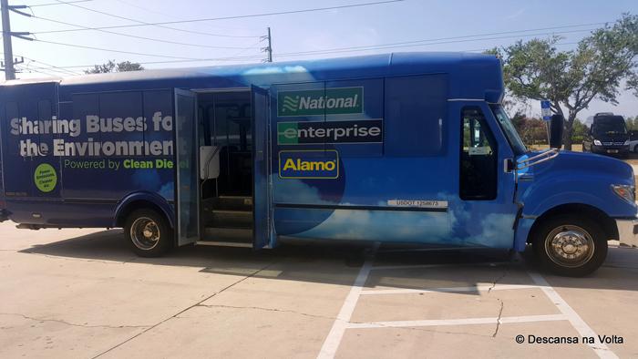 Transfer Alamo para Porto Canaveral