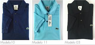 Polo Lacoste Original   Camisa Casual Sergio K e Reserva 6be704880a