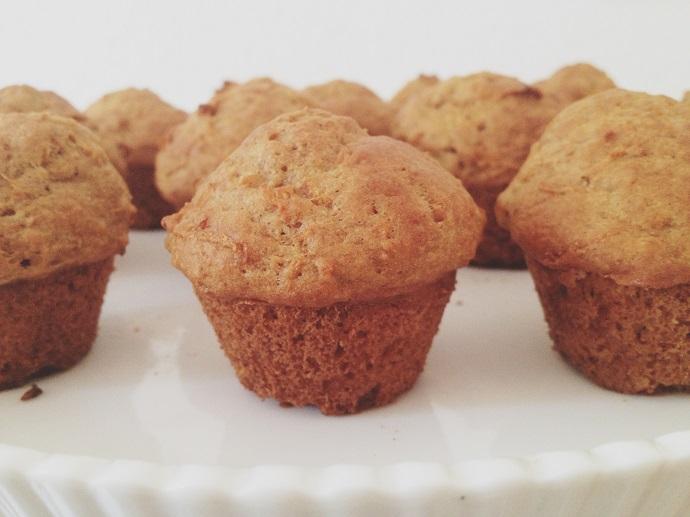 recipe: carrot cake muffins