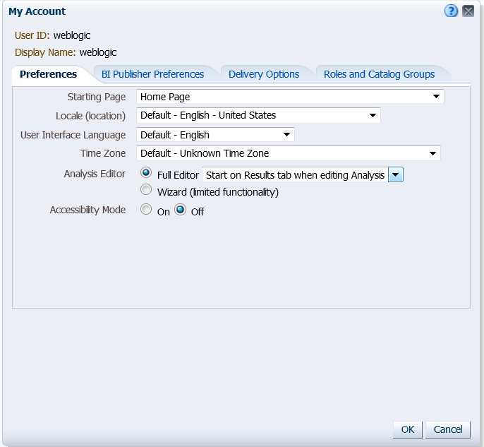 OBIEE Tips & Tricks: OBIEE11g: How to Navigate to Criteria tab on