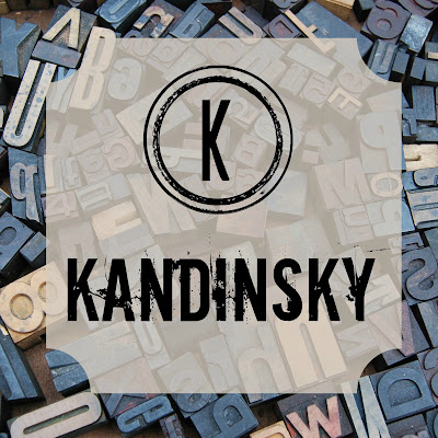 Kandinsky - Blogging Through the Alphabet - an artist study of Wassily Kandinsky and his colorful abstract art on Homeschool Coffee Break @ kympossibleblog.blogspot.com  #art #artiststudy #ABCBlogging