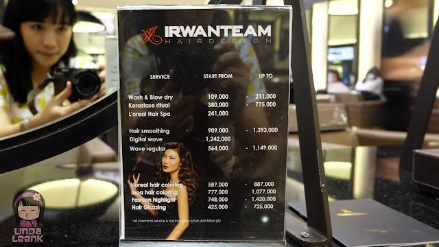 Irwan Team Hairdesign Review