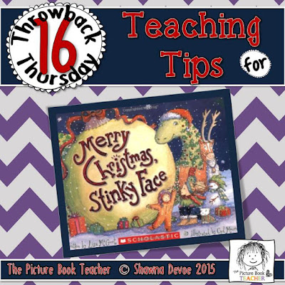 Merry Christmas Stinky Face by Lisa McCourt TBT - Teaching Tips.