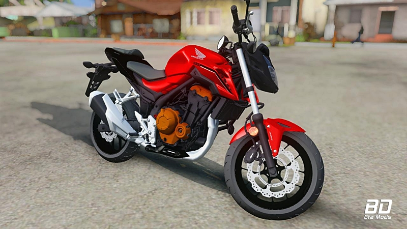 Download mod moto, Honda CB500F 2018 - GTA San Andreas