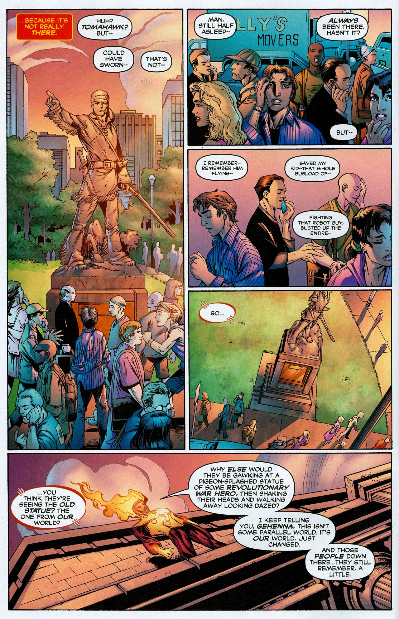 Read online Trinity (2008) comic -  Issue #20 - 4