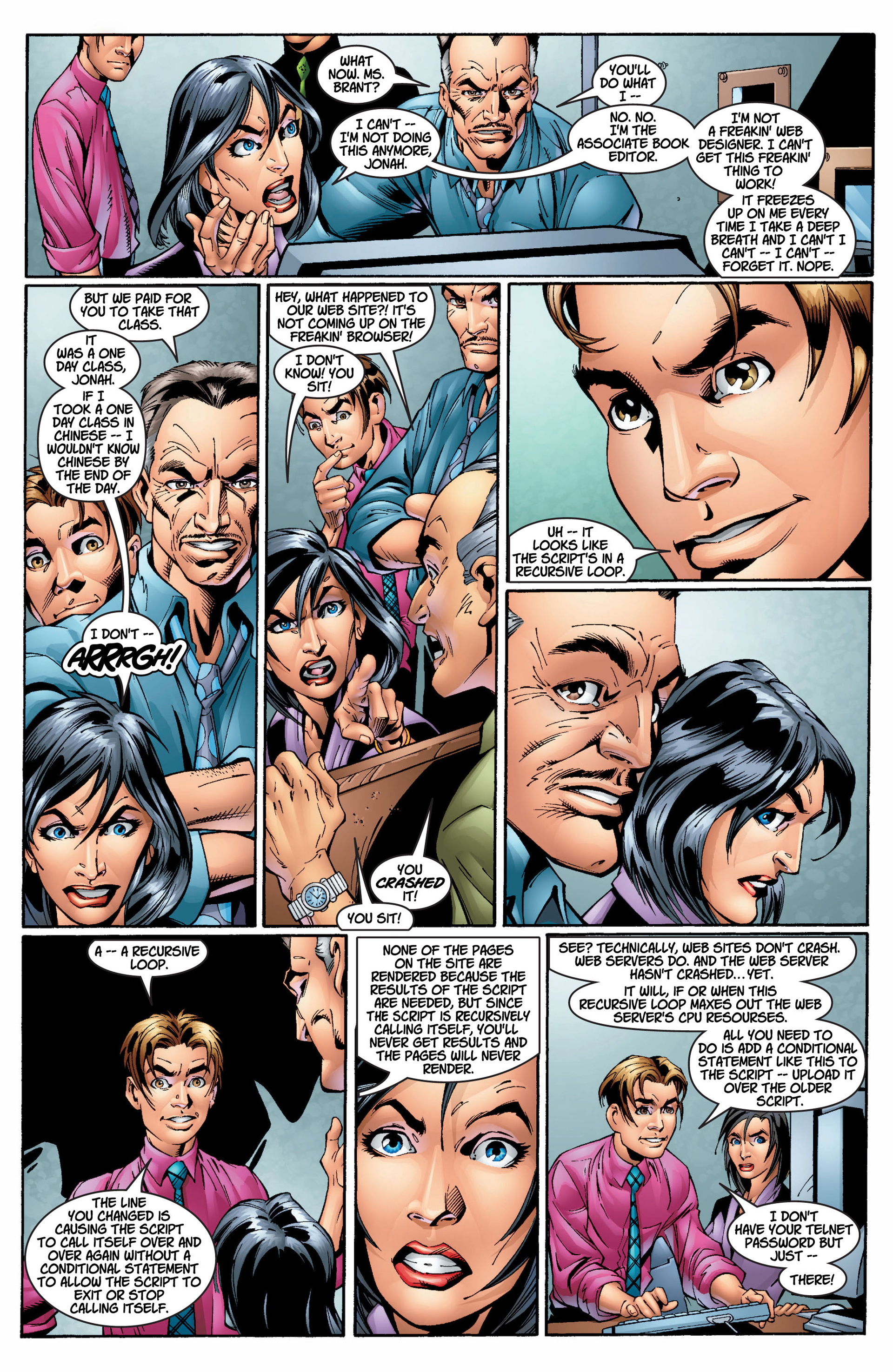 Read online Ultimate Spider-Man (2000) comic -  Issue #8 - 13