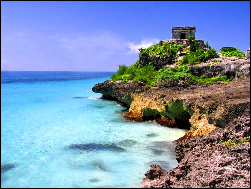Travel Tulum The Historical Ruins With Wonderful Beaches In Mexico Travel Tourism And