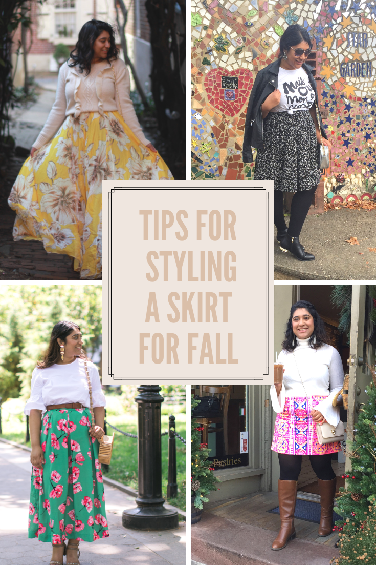 Tips For Styling A Skirt For Fall