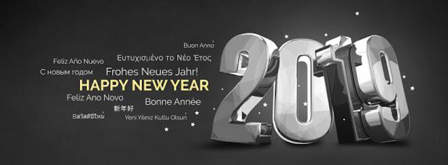 Ảnh bìa kèm lời chúc mừng năm mới 12 thứ tiếng trên thế giới