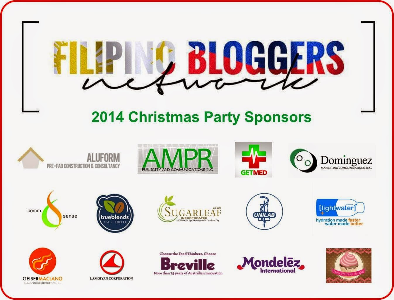 Bloggers Get Together In The Christmas Party Of Filipino Bloggers Network