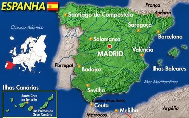 mapa de espanha zaragoza Blog Ana   Diário de Viagem: Zaragoza mapa de espanha zaragoza