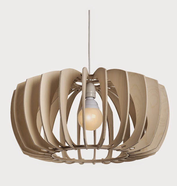 Wood & Bamboo Pendant Lights 10