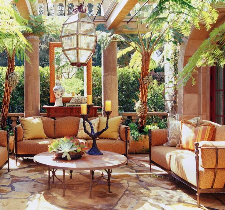 This Tuscan Style Home Interior Design And Decorating